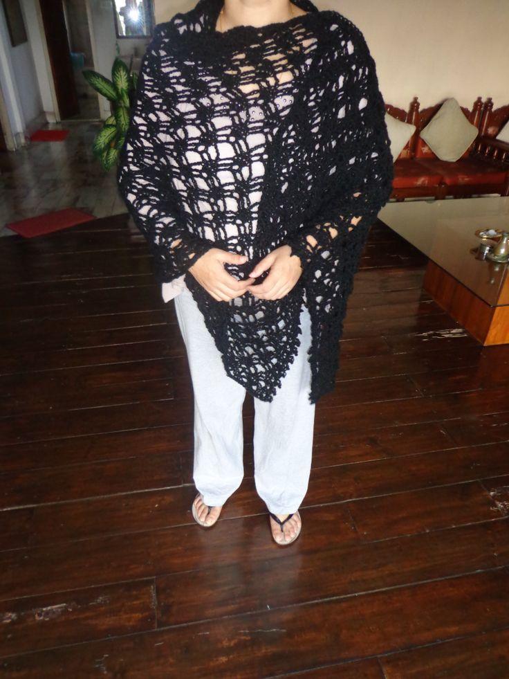 shawl pattern courtesy redheart