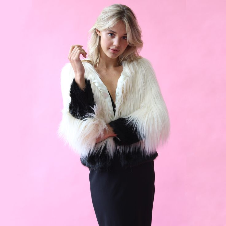 Unreal Fur - Fire And Ice Jacket // Available to hire for $59