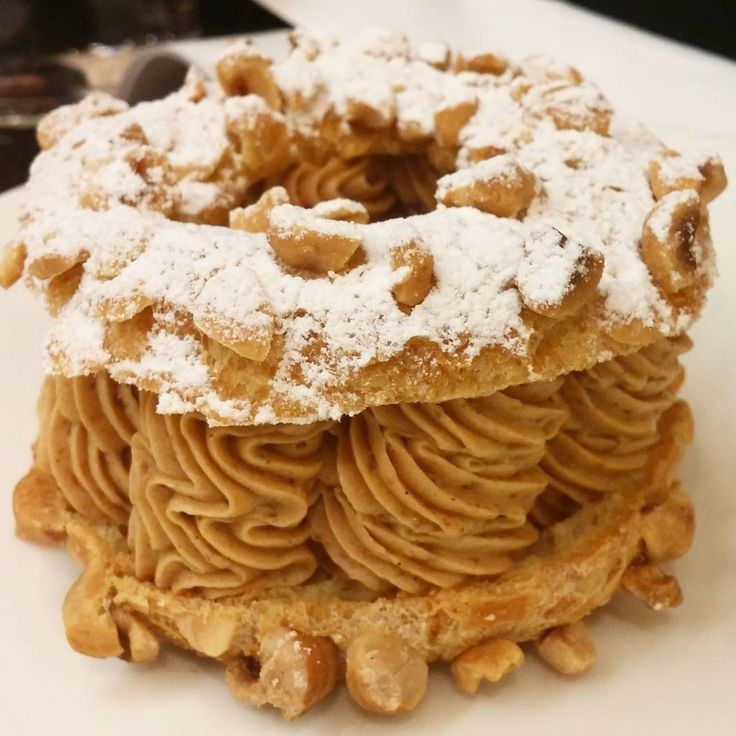 The best Paris-brest in the world by Jacques Genin.