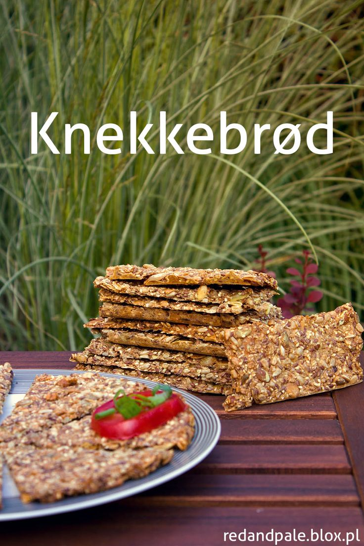 Knekkebrød - norweskie chrupkie pieczywo (żytnie, z ...