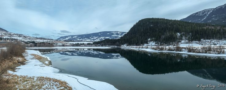 River Laugen Panorama by Sigurd Rage on 500px