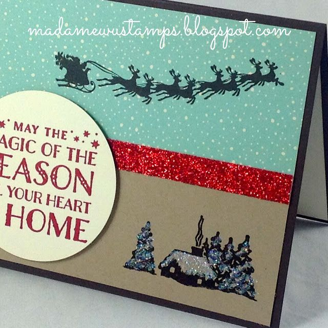 Card Making Ideas Christmas Stampin Up Part - 22: Stampinu0027 Up! Christmas Greetings, Stampin Up Christmas, Handmade Christmas  Cards ...