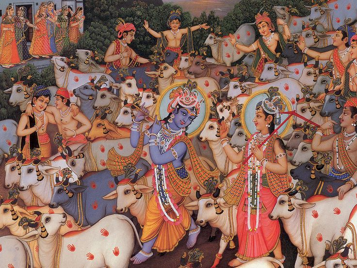 "Yesterday ""on the Vaisnava Calender marks the day known as Gopastami or Gosthastami. On this day lord Sri Krishna became a qualified cowherd and took the cows out to Govardhana to graze. Previously He was the keeper of the calves. It was on this day that He became a gopa, or cowherd boy."""