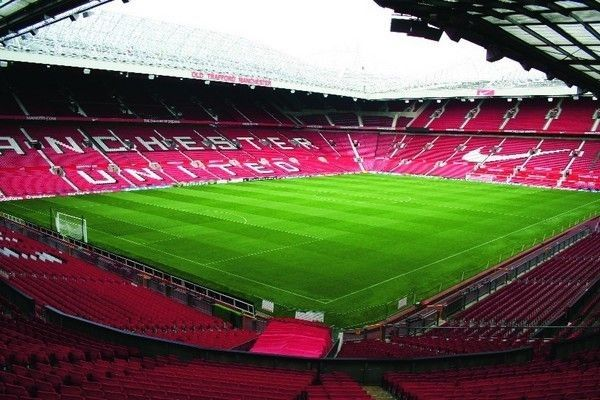 Old Trafford - home of Manchester United.