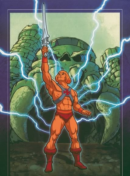 I HAVE THE POWER OF GRAY SKULL!! He Man!!! ha ha ha, spent many Saturday mornings watching this one!!