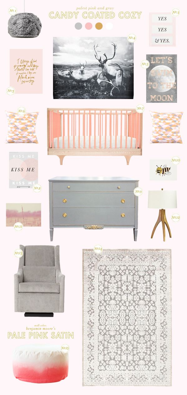 @Joni Wells Lay / Lay Baby Lay gives you inspiration for a candy coated cozy nursry! See the full post on Style Spotters: http://www.bhg.com/blogs/better-homes-and-gardens-style-blog/2013/08/27/get-the-look-candy-coated-cozy/?socsrc=bhgpin082913candycozy