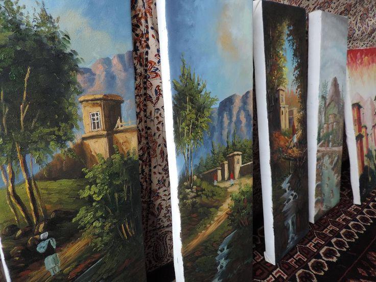 Obrazy wykonane przez afgańskich artystów