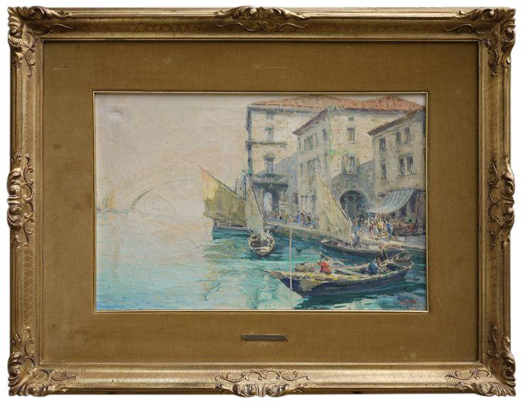 Luigi Pagan – Chioggia – Canal Vena