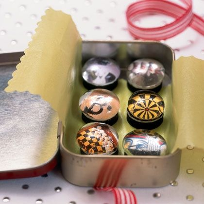 how to make marble magnets