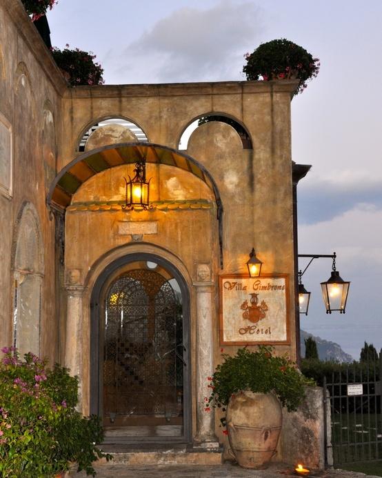 Ravello: Villa Cimbrone, Ravello, Amalfi Coast, Italy #zimmermanngoesto