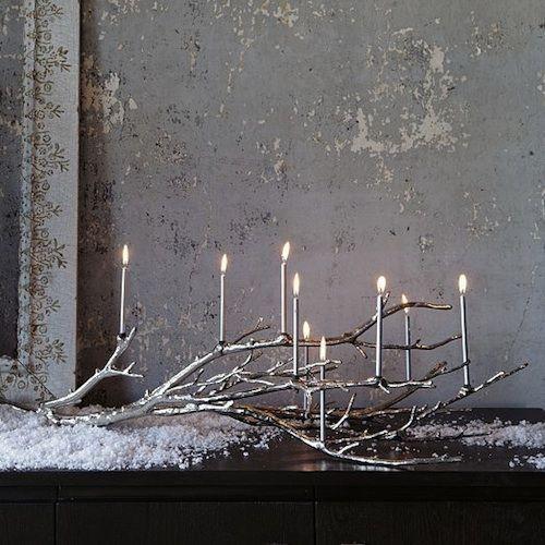 19 ideas para hacer detalles navideños con ramas secas