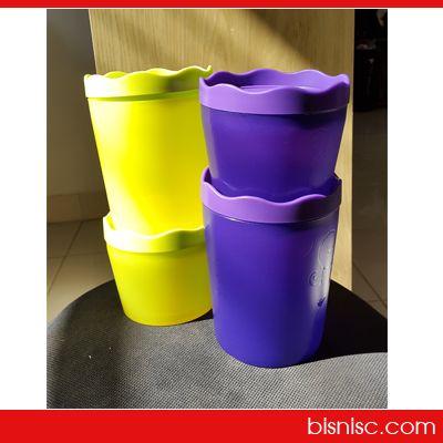 Moorlife Fiore  New product CMN Moorlife 1 set terdiri dari 4 pcs, dengan 2 ukuran yang berbeda dan 2 warna yang menarik Rp.225.000