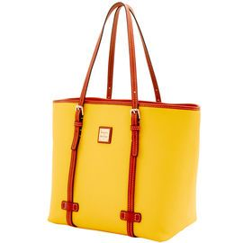Dooney & Bourke | Pebble Grain East West Shopper | Spring Fashion    Yellow | Trends | Trending | Yellow Handbag | Yellow Accessory | Yellow Accessories | Yellow Purse | Fashion | Style | Bold | Dandelion | Daffodil | Mustard | Lemon | Limone | Banana | Pineapple | Gold | Butterscotch | Honey | Bumblebee | Blonde | Butter | Tuscan Sun