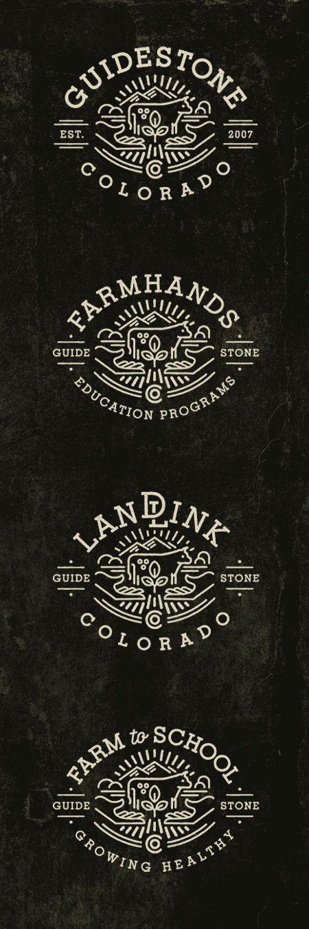 Guidestone Colorado Logos by Jared Jacob of Sunday Lounge