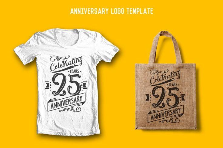 Rooms Design Shop — Anniversary Logo Template