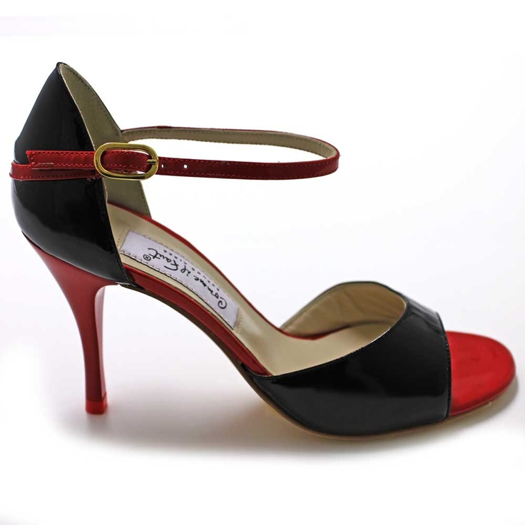 My favorite tango shoes ar Comme il Faut.  Part of the fascination with the dance has to do with the collection of shoes.