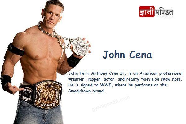 """अमेरिकन प्रोफ़ेशनल रेसलर"" जॉन सीना की कहानी | #John Cena #Biography http://www.gyanipandit.com/john-cena-biography/"