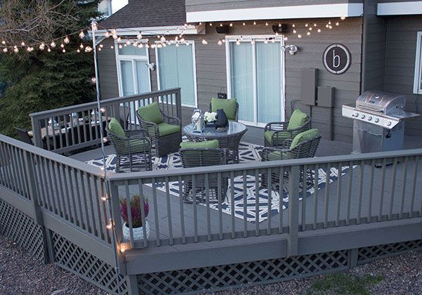 30 best images about deck colors on pinterest pewter for Garden decking colour ideas
