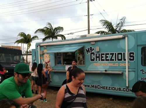 ms cheezious food truck miami