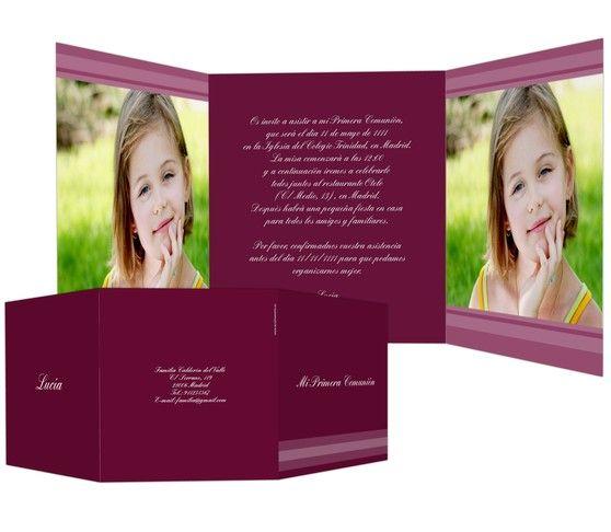 Imágenes - #invitaciones para #comunión