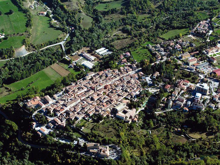 Amatrice (Rieti) - Aerial photo by M. Anselmi