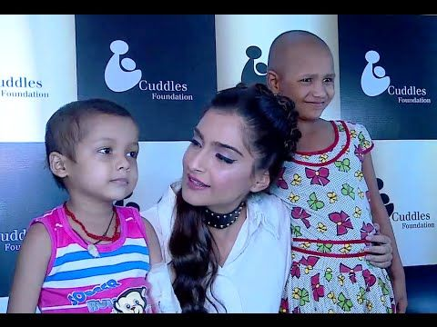 Sonam Kapoor at Cuddles Foundation 4th Annual Charity Fundraiser Event.