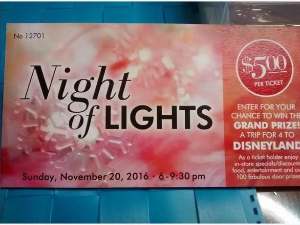Night of Lights Tickets for Hillside Mall Christmas Shopping