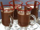 Picture of Mexicocoa RecipeFood Network, Almond Milk, Holiday Parties, Chilis Recipe, Chilis Peppers, Hot Chocolates, Food Recipe, Cocktails Anyone, Cocktails Recipe