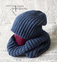 Knit & Crochet КРАСИВЫЕ ВЯЗАНЫЕ ВЕЩИ: Шапка бинни. Схема вязания крючком, мастер-класс.