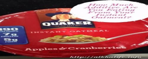 Is Quaker oatmeal healthy, is it gluten free, and what about its nutrition