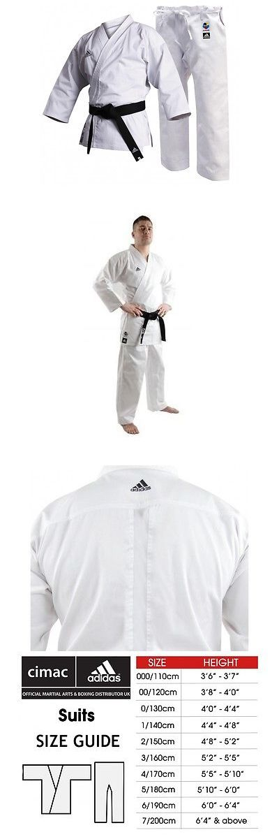 Other Combat Sport Clothing 73988: Adidas Karate Gi Kids Club Uniform Wkf Approved Suit 8Oz K220c Boys Girls Karate -> BUY IT NOW ONLY: $31.49 on eBay!