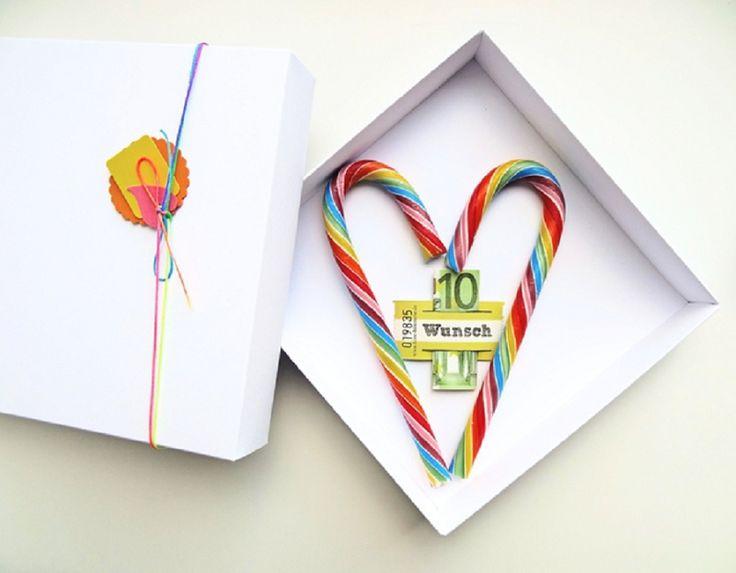 Geldgeschenke schöner verpacken mit schnurzpieps | Hochzeitsblog The Little…