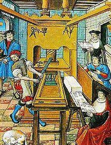 de boek druk kunst werd rond 1600 gebruikt om informatie sneller te verspreiden inplaats van sierlijke letters en mooi versierde boeken drukte mensen boeken met normale letters die betaalbaar waren ook voor de burgers