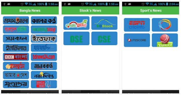 BD Newspapers  Bangla Newspaper App is available now. Yes, the Online Newspapers BD app for Android Mobile Phone. Just Install Online Newspapers BD Android app and read anytime-anywhere. This application contains all Online Newspapers BD news from that Bangladeshi Newspapers. Let's move on to read all Online Newspapers BD Bangla that contains Bangladeshi Local news, sports news, Online News, international news etc.