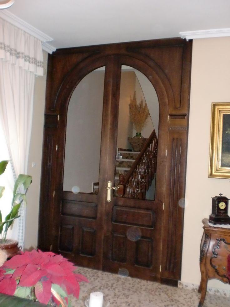 17 best images about marcos de puertas on pinterest the for Arcos de madera para puertas