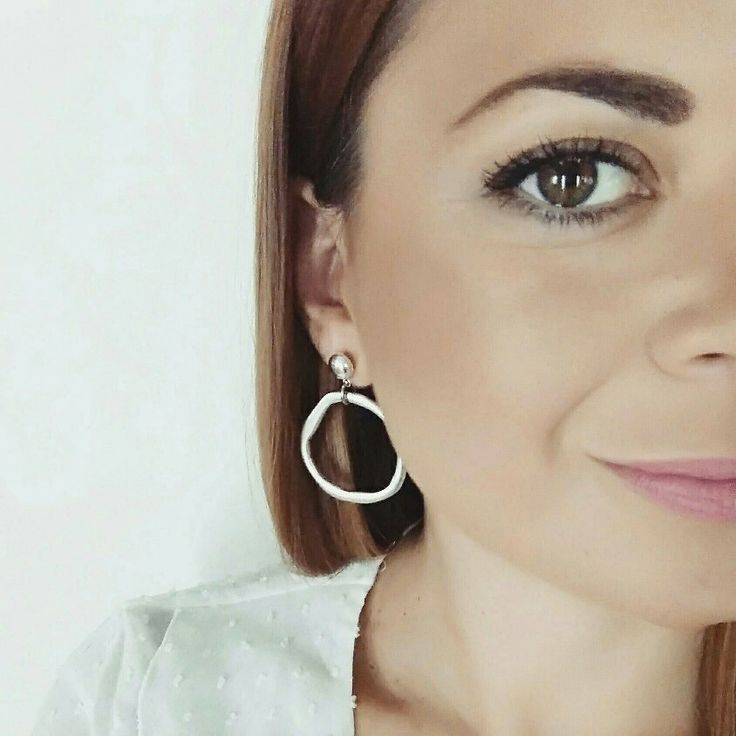 Silver Moon Hoops ✨ #twininas #twininastales #jewelry #hoopearrings