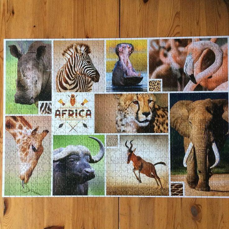 Do trzech razy sztuka #puzzle #africa #animals #wolne