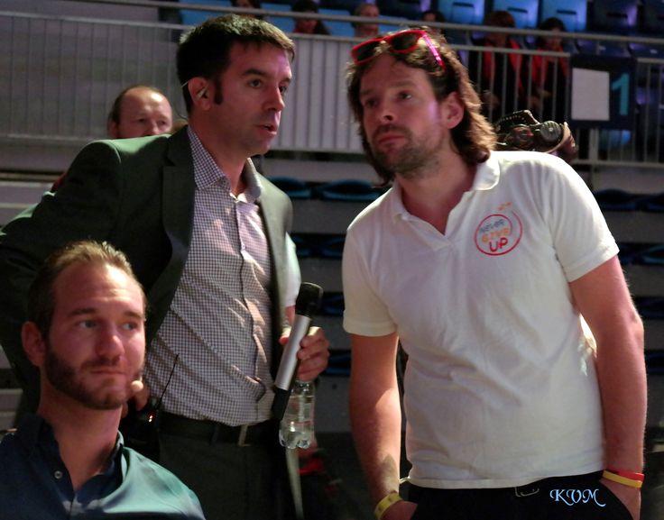 2016.09.21. Nick Vujicic, Kiss Barna és a Nem adom fel  Krasznai V. Magdolna (KVM) fotó