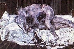 Rouge et Noir a Badem Ciflik: Francis Bacon - Two Figures, 1953