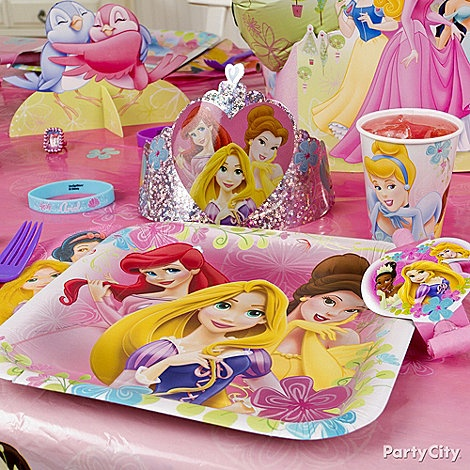 Add Disney Princess tableware to your tablescape to turn your princess\u0027s birthday into a royal affair  sc 1 st  Pinterest & 11 best Princess Birthday ideas images on Pinterest | Birthdays ...