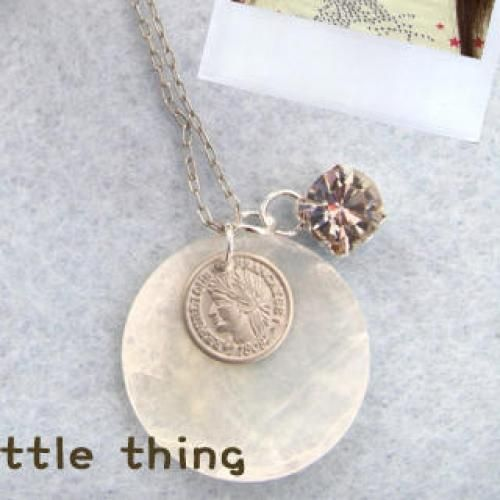 Little Coin Shell Necklace