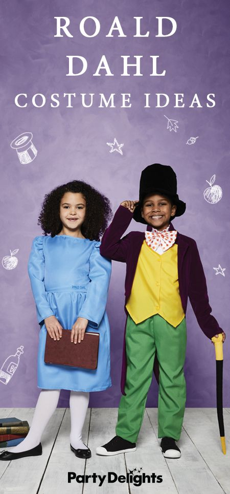 If you're looking for World Book Day costume ideas, you're in the right place. Read our round-up of the best Roald Dahl costume ideas for inspiration. From Willy Wonka and Charlie Bucket to The Twits, Matilda, Miss Trunchbull and Fantastic Mr Fox, there are so many amazing Roald Dahl characters to choose from! And all these costumes are available from partydelights.co.uk.