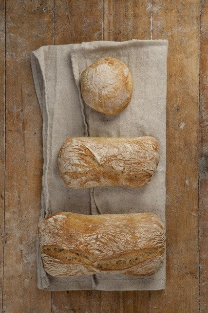 Jim Lahey shows how to make amazing bread that is not fussy!