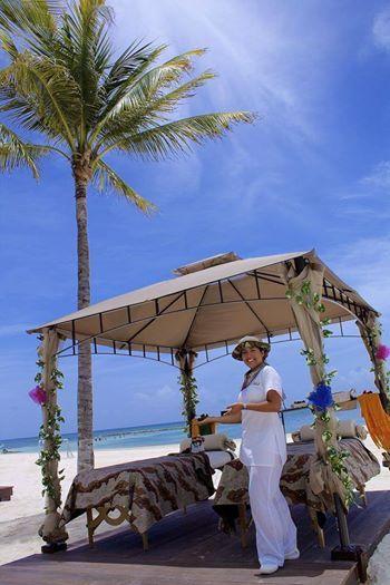 А вы знаете, что у нас есть спа для детей? Прямо на пляже! http://rivieramaya.grandvelas.com/russian/