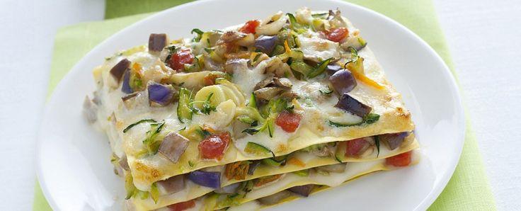 Summer vegetable lasagna | Salt and Pepper