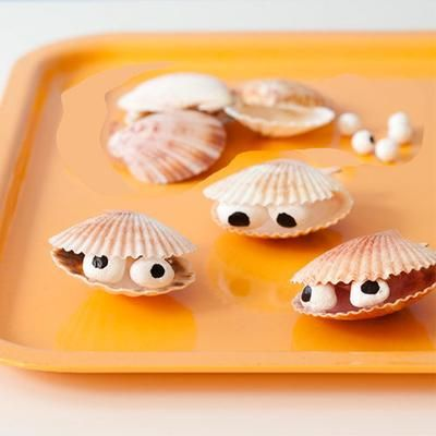 Bring the beach home! Make this cute craft out of clamshells you collect on vacation and it'll feel like you never left.