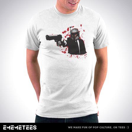 Agent Boba Fett (męska koszulka t-shirt)