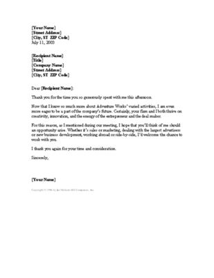 7 best job search follow up images on Pinterest Job interviews - thank you letter to interviewer