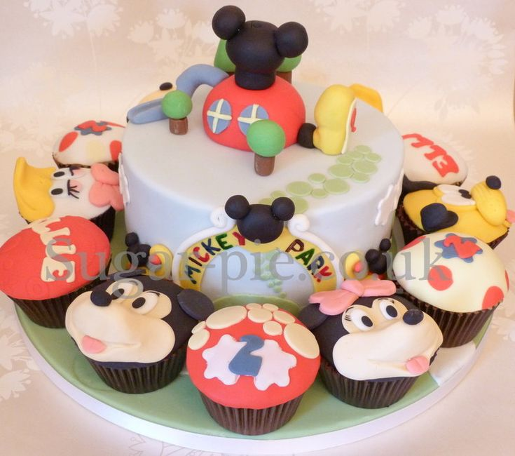 Ace Bakery Mickey Mouse Cakes