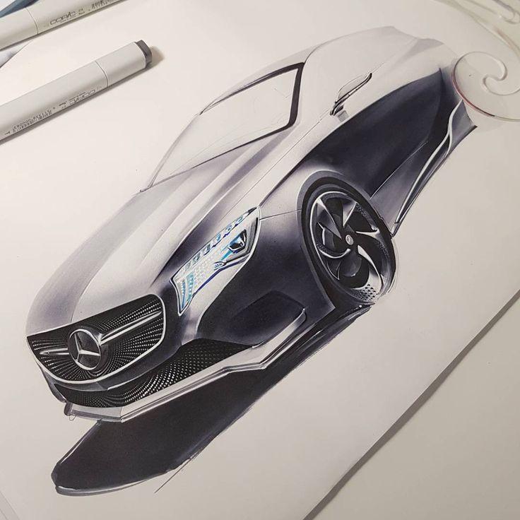 continued... A Klasse Concept sketch #marker rker #designsketch #sketchzone…